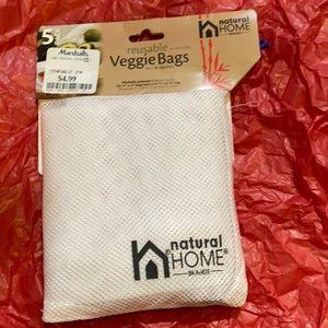 NWT reusable veggie bags